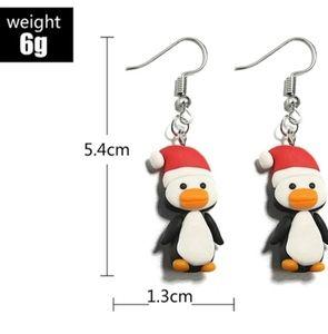 Penguin  Earrings Handmade Christmas